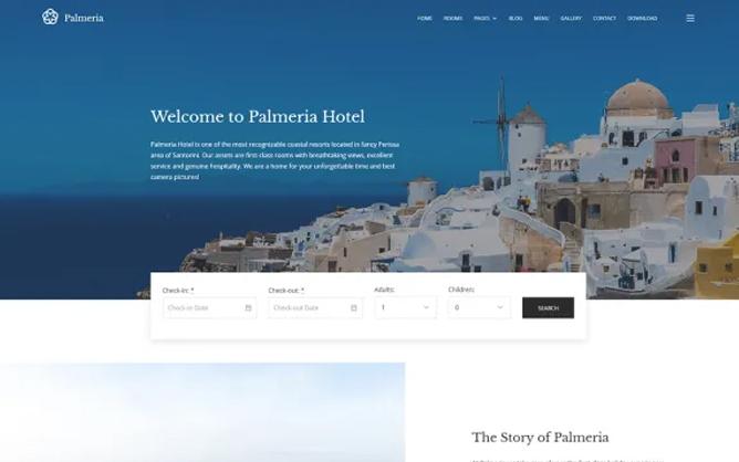 Template 07 Palmeria Hotel